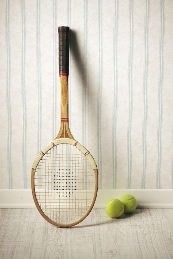 What a Racquet tennis racquet and ball